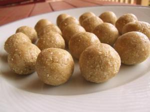 raw anzac truffles